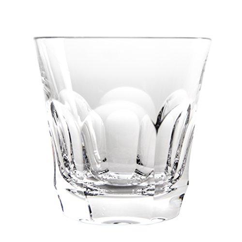 Cristal de Sèvres Chenonceaux Set de Verres à Whisky, Verre, 10 x 10 x 10 cm, Lot de 2