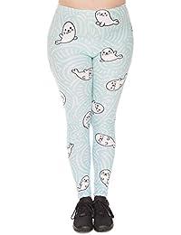 246c7eb25aa0 Laisla fashion Yoga Pantaloni Leggings Piccoli Fori per Il Lago Wen  Stampati Classiche Leggings A Vita