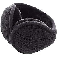 Unisex faltbare Ohrenschützer warme stricken Ohrenwärmer Fleece Winter Ohrenschützer, B2 preisvergleich bei billige-tabletten.eu