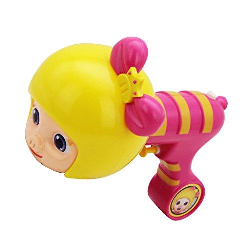 le Spielzeug Jungen und Mädchen drücken Hochdruck Jet Kinder Spielen Strand Spielzeug ( Farbe : Pink ) ()