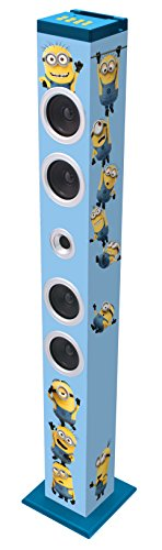 Lexibook - BT900DES - Minions Bluetooth Sound Turm (Minion Radio Fm)