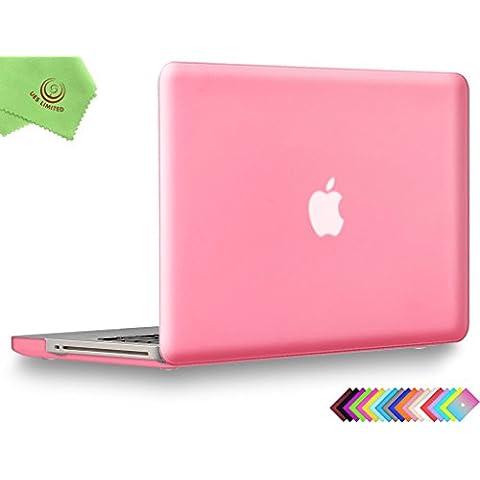 UES-Statuina morbida al tatto ed opaca, custodia rigida e panno in microfibra per pulire, per MacBook - Guida All'acquisto Holder