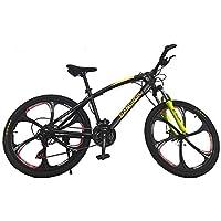 Helliot Bikes by Bangkok Bicicleta de Montaña, Adultos Unisex, Amarillo/Negro, Talla Única