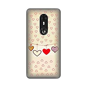 Digi Fashion Premium Back Cover with direct sublimation printing for Gionee A1