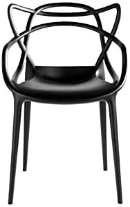 Cartel 586609 Masters Chair, Black