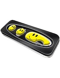 Asbri Golf Geschenkset mit Pitchgabel Pitchmaster und Clip für Golf-Caps, in Blechdose