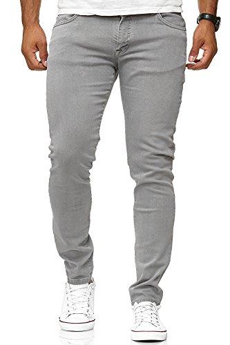 03aad40337 Redbridge Hombres Jeans Slim-Fit Básico Chino Denim Elásticos Moda Vaquero