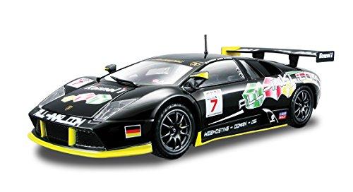 Bburago - 2043151 - Véhicule Miniature - Modèle À L'échelle - Race Lamborghini Murcielago Fia Gt - Noir - Echelle 1/24