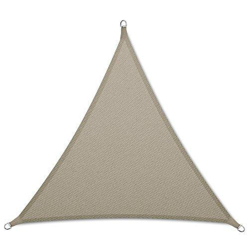 casa pura Sonnensegel wasserabweisend imprägniert | Dreieck gleichseitig | Testnote 1.4 | UV Schutz...