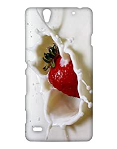 Crackndeal Back Cover for Sony Xperia C4