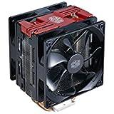 Cooler Master Hyper 212 LED Turbo Processeur Refroidisseur - ventilateurs, refoidisseurs et radiateurs (Processeur, Refroidisseur, Prise AM2, Prise AM2+, Prise AM3, Socket AM3+, Socket AM4, Socket FM1, Socket FM2, Socket FM2+, Sock, Noir, Rouge, Aluminium, LED)