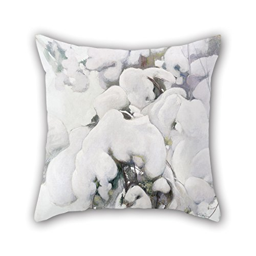 loveloveu-pintura-al-oleo-pekka-halonen-cubiertas-de-nieve-arboles-de-pino-manta-fundas-de-almohada-