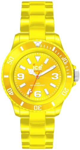 Ice-Watch Unisex-Armbanduhr Small Classic Solid Gelb CS.YW.S.P.10