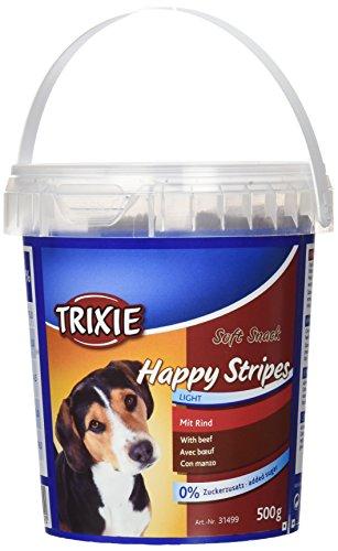 Barattolo Soft Snack Happy Stripes, 500g, Ternera