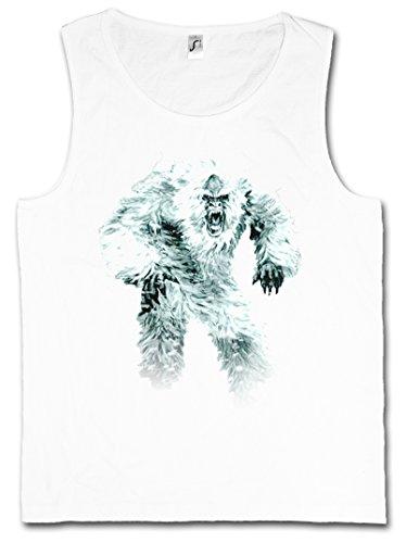 Yeti-tank (Urban Backwoods Yeti I Herren Tank Top – Monster Bigfoot Creature Sasquatch Nepal Snowman Ape Affe Himalaya Big Foot Sabretooth Größen S – 5XL)