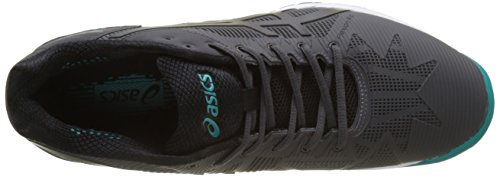 Asics Gel-Solution Speed 3, Chaussures de Tennis Homme, Bleu Gris (Dark Grey/Black/Bleu Lapis)