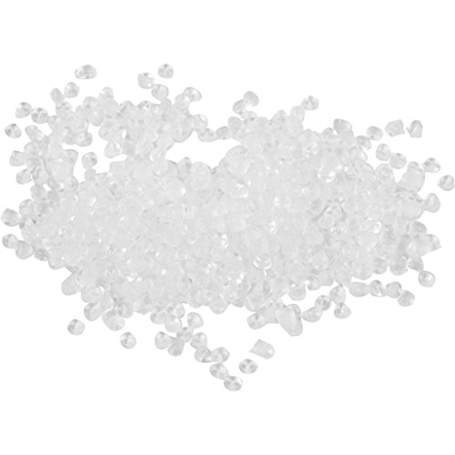 Pellet di plastica, dimensioni 5 x 5 mm, 1 kg