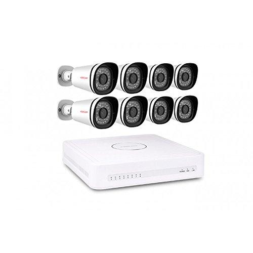 Foscam fn3108e b8 2t kit videosorveglianza con 8 for Negozio con kit abitini