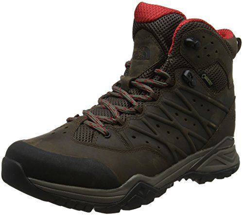 THE NORTH FACE Herren M Hh Hike Ii Md GTX Trekking-& Wanderstiefel, Braun (Bone Brown/Rage Red 4Dc), 45.5 EU