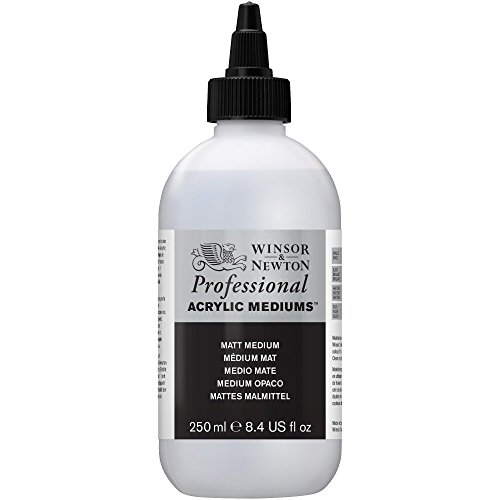 Winsor & Newton - Medium opaco acrilico, 250 ml