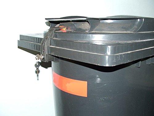 CTS-Cubo de basura cierre Sudhaus-240Litros para Otto contenedores cierre uniforme