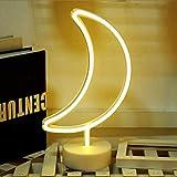TAIPPAN LED Neonlicht Weihnachtsbaum Mond Einhorn Lampe Schlafzimmer Kinderzimmer Nacht Weihnachtsdekoration