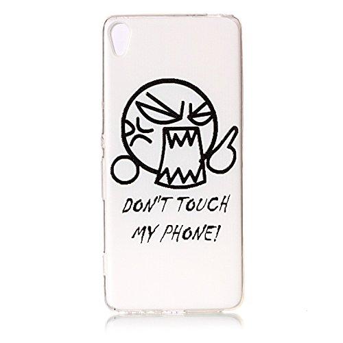 BONROY® Silikon Handy hülle für Sony Xperia XA TPU Gummi Taschen Weich Soft Back cover,Ultra Slim Skin TPU Fall-Abdeckung Protective Bumper für Sony Xperia XA