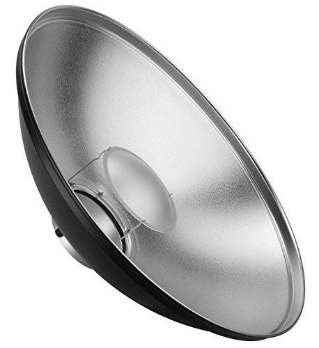 Bresser M-17E Ultra Beauty Dish Elinchrom, 56 cm schwarz