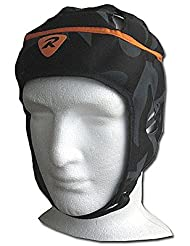 Rugbytech Pro Rugby Headgear Senior [negro], color negro, tamaño small