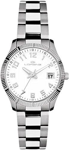 Orologio Donna Classico Ginevra Acciaio Bianco 027066AA - Lorenz