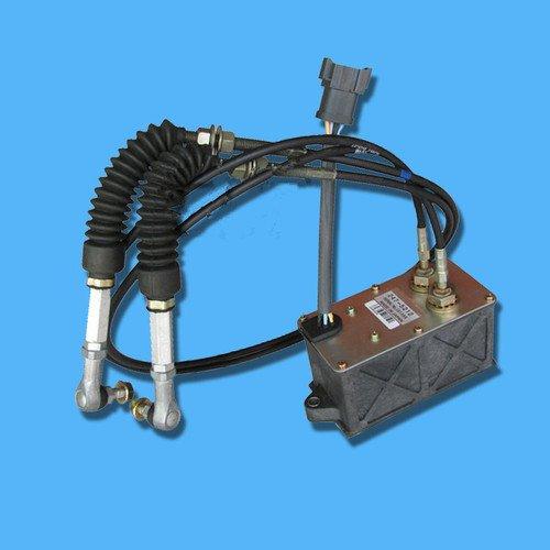 Gouverneur Kabel (Gowe Gaszug Motor, Schritt Motor, Gouverneur Motor für Bagger E320C Gaszug Motor, E320C Gouverneur Motor Montage (7Kabel) 247–5212, E320C Accelerator Motor)