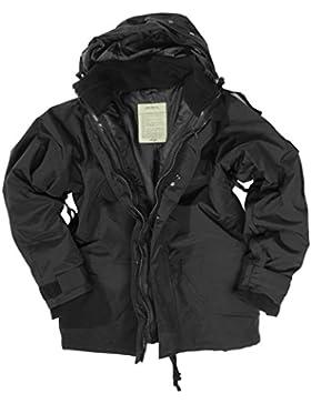 Mil-Tec ECWCS Chaqueta con Lana Polar Negro tamaño XL