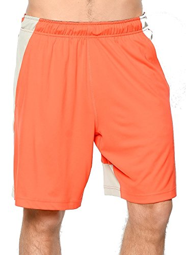 Nike Herren Fly 9 Trainigsshorts Orange (max orange / hellgrau / schwarz)