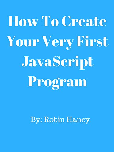 How To Create Your Very First JavaScript Program [OV]