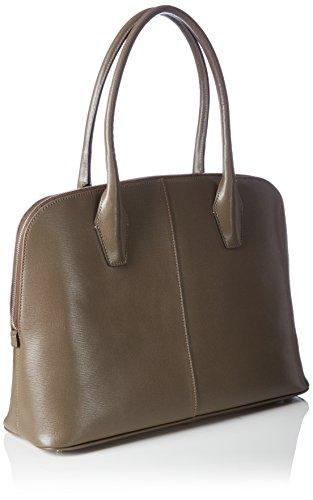 Bree Collection - Chicago 2, Black, Double Shoulder Bag, Borsa A Tracolla da donna Marrone (Braun (anthra 980))
