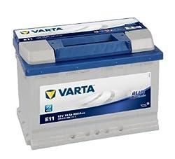 VARTA Blau batterie Dynamic E11 74 ah 680 ah