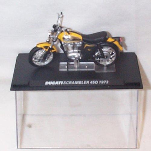 Ducati Scrambler 450 1973 Bike 1,24 Skala Druckguss-Modell (Bike-skala)