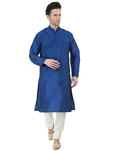 Kurta Pyjama Phantasie elegant Lange hülsenknopf Hemd Salwar Kameez formell beiläufiges...