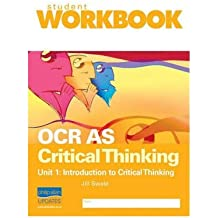 Critical thinking developing students  critical thinking  kristina d    Ocr critical thinking grade boundaries june www yarkaya com Amazon com