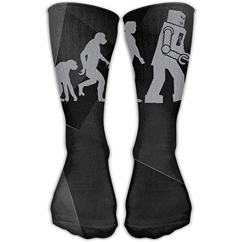 HVCMNVB Sheldon Coopers Robot Geek 3D Printing Anti-Odor Running Long Sock Athletic Socks