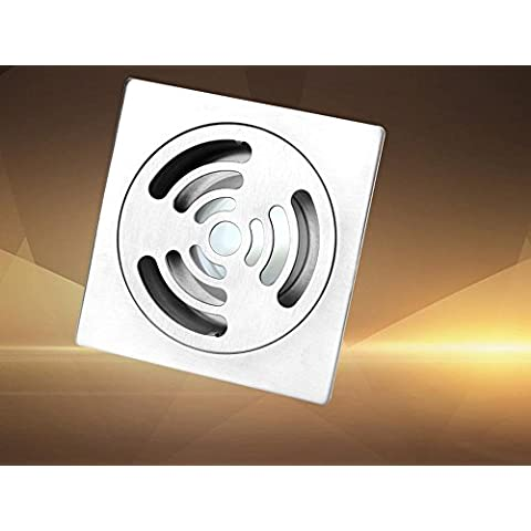 NHD-High-end bathroom odor-resistant insect-resistant floor drain, fashion under the wash-jam-proof stainless steel back water water leak