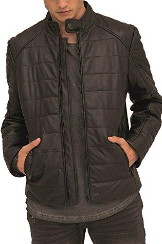 Trueprodigy Casual Homme Veste en Cuir, Vetements Swag Marque Vintage (Sportif & Slim fit Classic), véritable Blouson de Cuir Mode Fashion