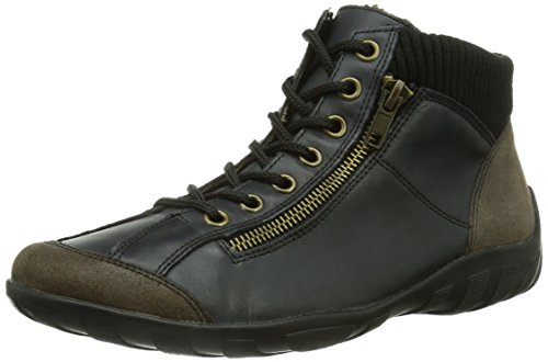 Remonte R3456, Damen Hohe Sneakers, Blau (whisky/lake/schwarz / 33), 41 EU (7.5 Damen UK)