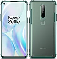 YEESOON OnePlus 7T Pro Case, Ultra-Thin Frosted Transparent Back Cover Shock Absorption Anti-Fall Flexible Ult