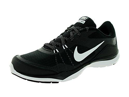 Nike Flex Trainer 4 643083 Damen Low-Top Sneaker schwarz / anthrazit / weiß