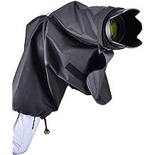 JJC RC-DK capa de lluvia para Nikon cámaras y lentes (hasta 22 cm) que utilizan la DK-20, DK-21, DK-23 eye-cup