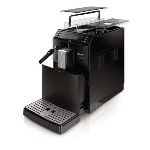 Saeco HD8761/01 Minuto Kaffeevollautomat, klassischer Milchaufschäumer, schwarz - 11