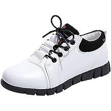 Zapatos deportes con correa breathable para mujer,Sonnena Zapatos de cuero al aire libre para