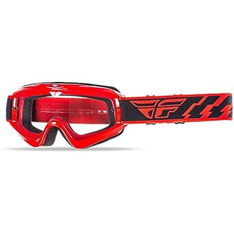 Fly Racing Motocross-gafas de KID Focus rojo 2016