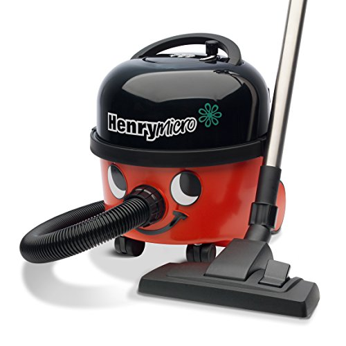 41cI0jURIDL. SS500  - NUMATIC Henry Micro Vacuum Cleaner, 580 Watt, Red/Black